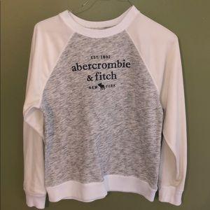 Abercrombie & Fitch Girls Size 11/12 sweatshirt